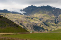 Mountains  in iceland Royalty Free Stock Images