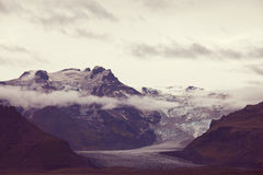 Mountains in Iceland Royalty Free Stock Image
