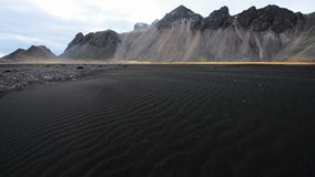Mountains of Iceland stock footage