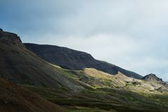 Mountains in iceland Royalty Free Stock Photos