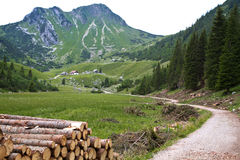 Mountains In Bavaria, Germany Stock Image