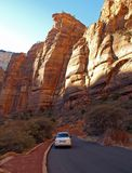 Mountains In Zion National Park Stock Photo