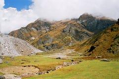 Mountains in India Stock Photo