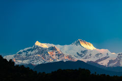 Mountains Inspirational Landscape View, Himalayas Royalty Free Stock Images