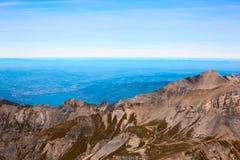 Mountains in Interlaken Royalty Free Stock Images