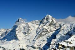Mountains of Interlaken Stock Images