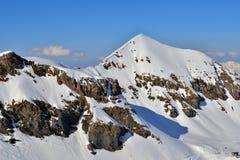 Mountains of Interlaken Royalty Free Stock Images