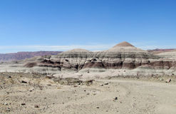 Mountains in Ischigualasto, Valle de la Luna Royalty Free Stock Photography
