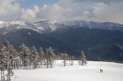 In mountains of island Sakhalin Royalty Free Stock Photography