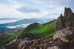 Mountains, Isle of Skye Stock Photo
