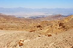 Mountains of Israel, down to the Red Sea Stock Photo