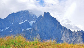 Mountains in italian Alps Stock Photography