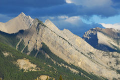 Mountains in Jasper Stock Image