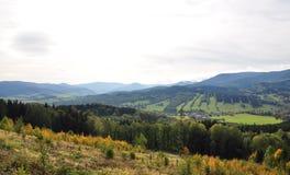 Mountains - Jeseníky. The Czech Republic Royalty Free Stock Photo