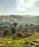 Mountains of  Jimena de La Frontera Royalty Free Stock Photography