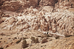 Mountains of Jordan Stock Photography