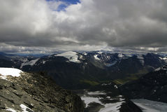 Mountains in Jotunheimen Royalty Free Stock Photo