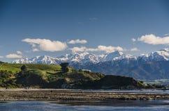 Mountains of Kaikoura, Nez Zealand Stock Images
