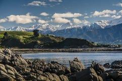 Mountains of Kaikoura, Nez Zealand Royalty Free Stock Photos