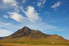 Mountains at Kalfafell, East Fjords, Ice Royalty Free Stock Photos