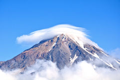 Mountains of Kamchatka Royalty Free Stock Photos