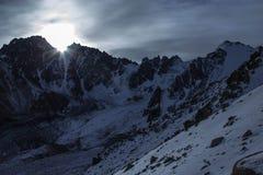 Mountains of Kazakhstan. Peak Youth Royalty Free Stock Image