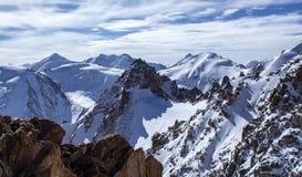 Mountains of Kazakhstan. Peak Youth Stock Image