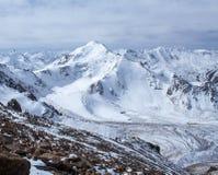 Mountains of Kazakhstan. Peak Youth Stock Photos
