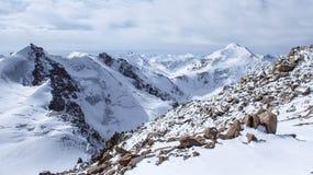 Mountains of Kazakhstan. Peak Youth Royalty Free Stock Images