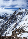 Mountains of Kazakhstan. Peak Youth Stock Photo