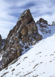 Mountains of Kazakhstan. Peak Youth Royalty Free Stock Photos