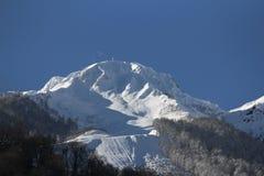 The mountains in Krasnaya Polyana, Russia Stock Photos