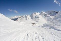 Mountains of Krasnaya Polyana, Sochi, Russia Royalty Free Stock Photo
