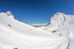 Mountains of Krasnaya Polyana, Sochi, Russia Stock Photography