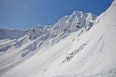 Mountains of Krasnaya Polyana, Sochi, Russia Royalty Free Stock Images