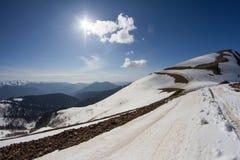The mountains in Krasnaya Polyana, Sochi, Russia Stock Photography