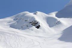 The mountains in Krasnaya Polyana, Sochi, Russia Stock Image