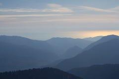 The mountains in Krasnaya Polyana, Sochi, Russia royalty free stock photo