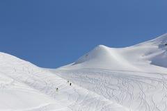 The mountains in Krasnaya Polyana, Sochi, Russia Royalty Free Stock Photos