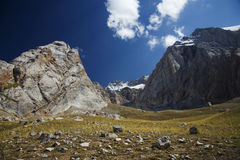 Mountains in Kyrgyzstan Stock Photo
