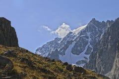 Mountains. Of Kyrgyzstan. Ala-Archa gorge Stock Image