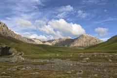 Mountains of Kyrgyzstan. Naryn region Stock Photos