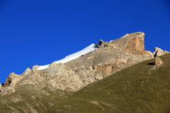 Mountains of Kyrgyzstan. Naryn region Royalty Free Stock Images