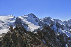 Mountains. Of Kyrgyzstan, peak Corona Stock Images