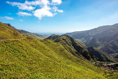 Mountains on La Gomera island Stock Photos