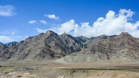 Mountains in Ladakh, India Royalty Free Stock Photo