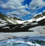Mountains lake Royalty Free Stock Image