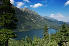 Mountains lake. Royalty Free Stock Photography