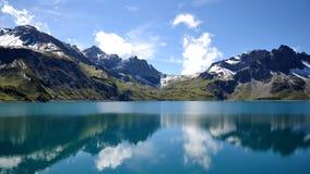 Mountains & Lake. Peaceful Austrian Mountains and Lake Royalty Free Stock Photos