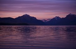 Mountains and the Lake Royalty Free Stock Photography